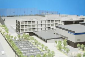 工場建築模型